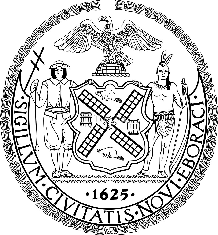 Seal of New York City by Tonbbo