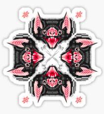 Bat Head Pattern Sticker