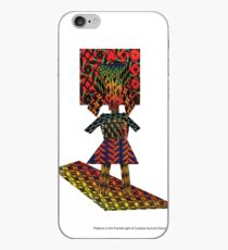 Patterns in the Female Light of Creative Aura by Darryl Taylor Kravitz 2015 iPhone Case