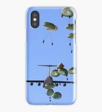 Military Parachutes iPhone Case