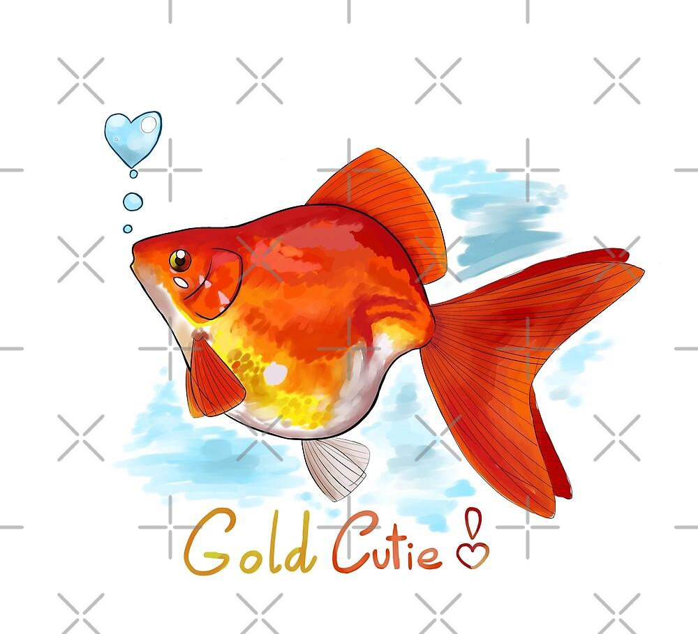 Goldfish Cutie by CristalZhaduir