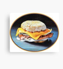 Ham, Egg and Cheese Canvas Print