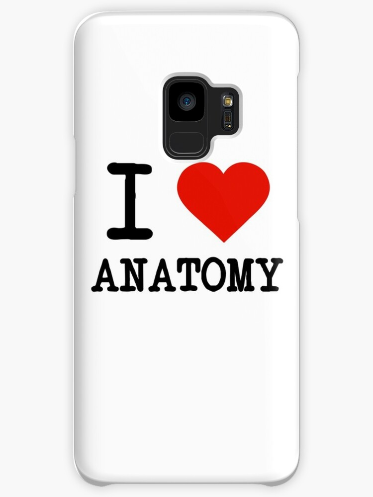 I Love Anatomy Cases Skins For Samsung Galaxy By Staker Redbubble