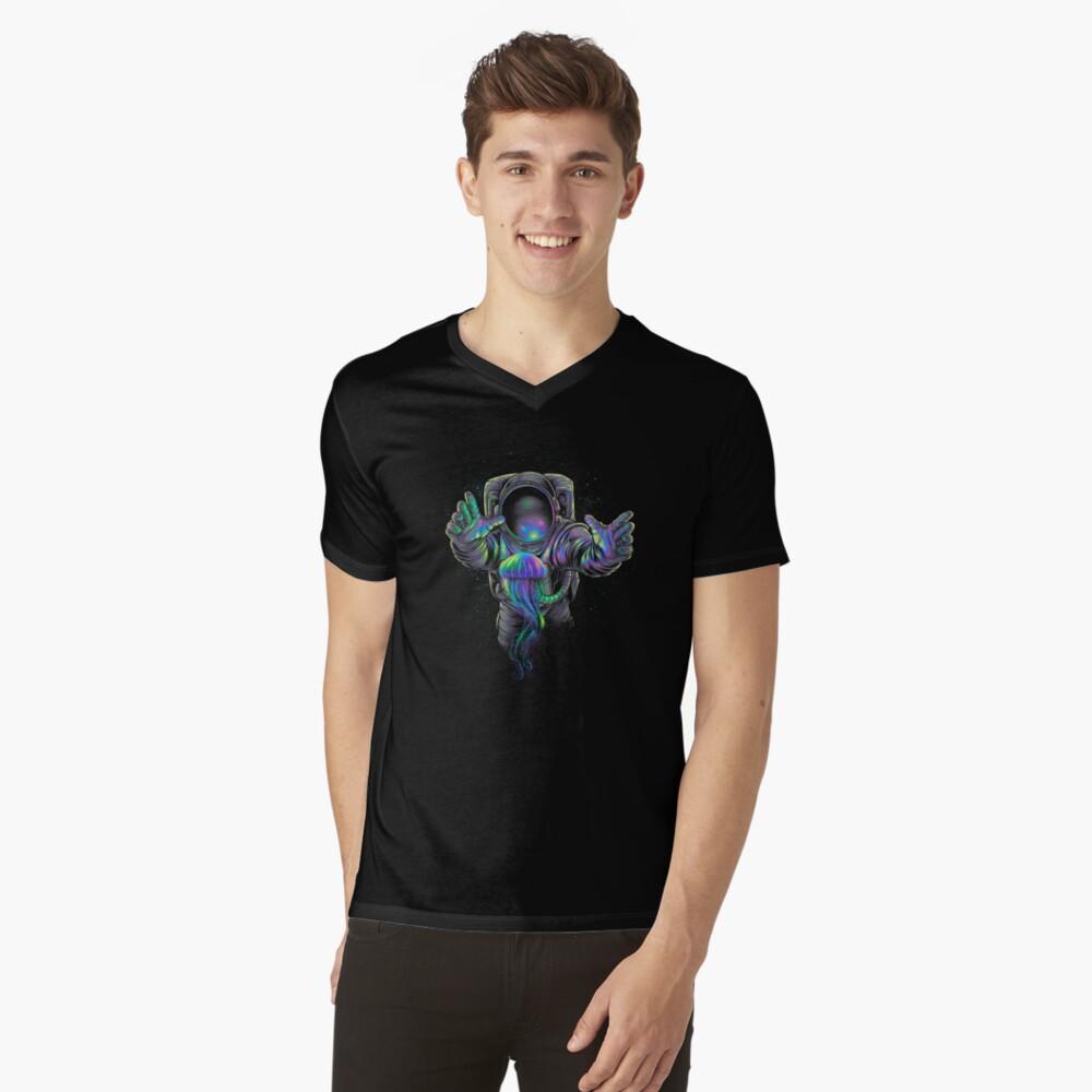 Jellyspace 2 T-Shirt mit V-Ausschnitt