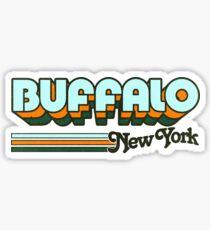 Buffalo, NY | City Stripes Sticker