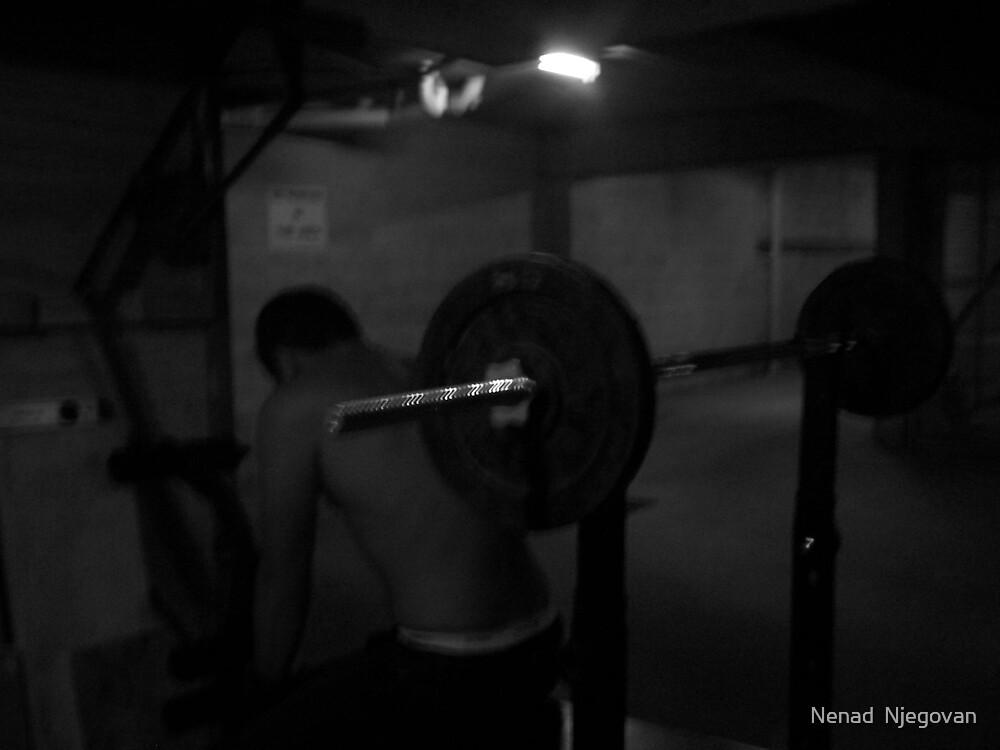 poor mans gym by Nenad  Njegovan