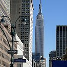 Empire State Building from 9th Avenue by Jack McCabe