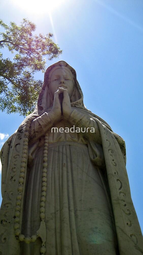Praying Madonna by meadaura