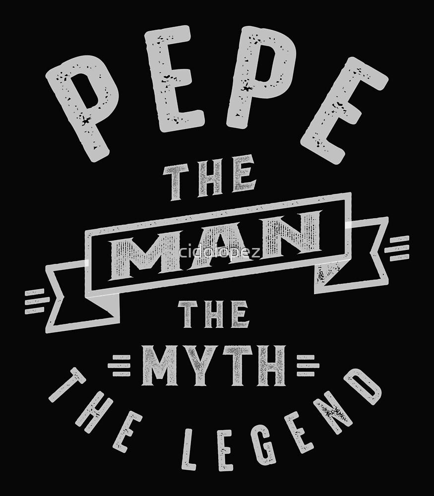 Pepe Man Myth Legend by cidolopez