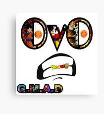 GMAD - Dragonball Z Canvas Print