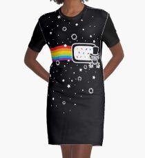 The Nyan Nyan Dook Graphic T-Shirt Dress