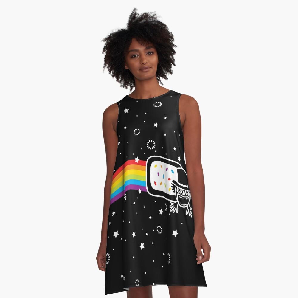 The Nyan Nyan Dook A-Line Dress Front