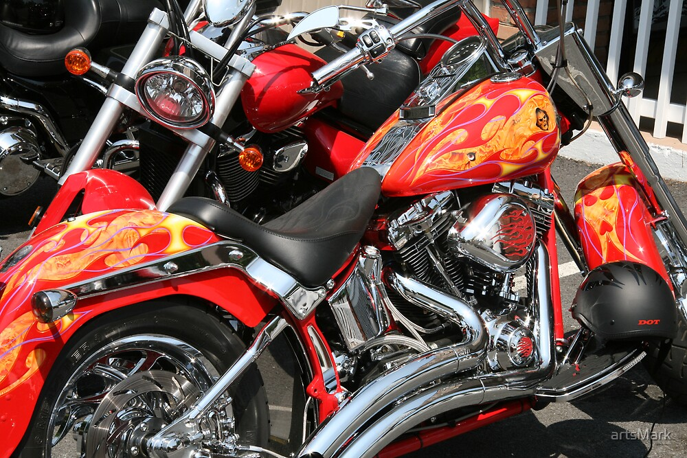 Hot Harleys by artsMark