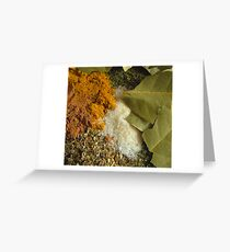 Mixed spice Greeting Card