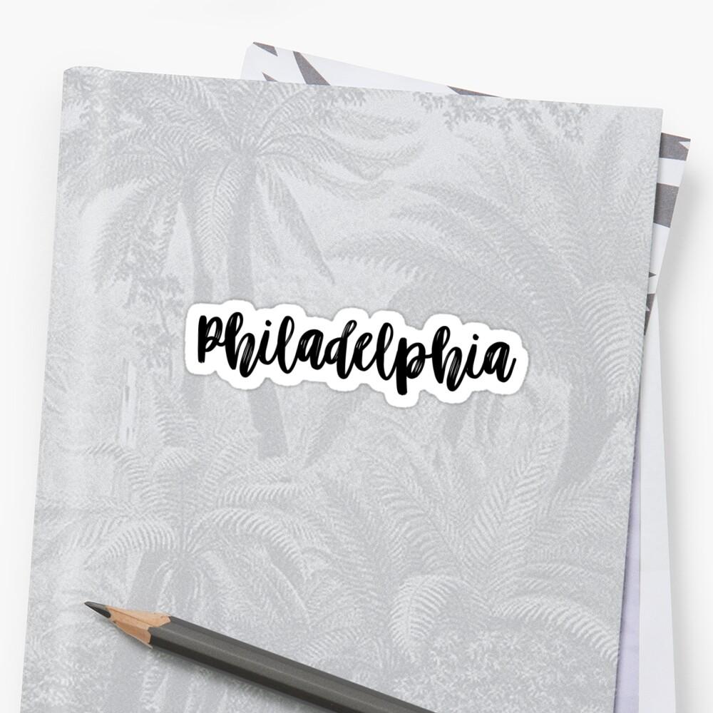 philadelphia  by stickerzaf