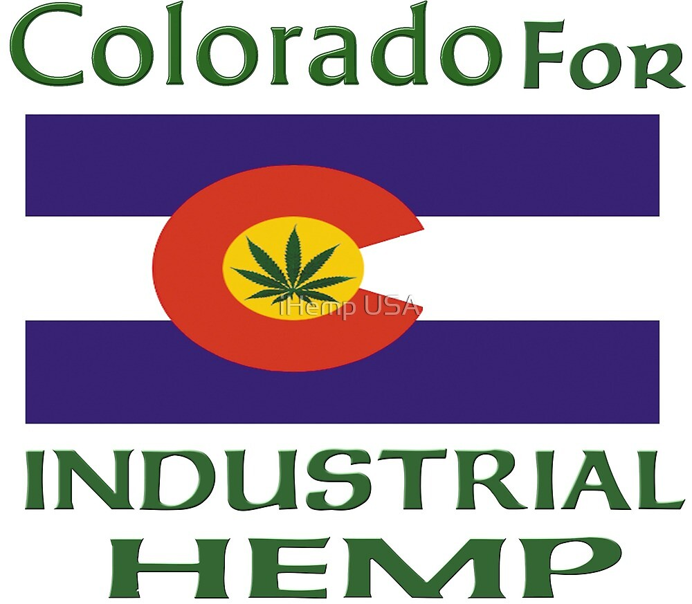 Colorado for Industrial Hemp Flag by thegreatbilby