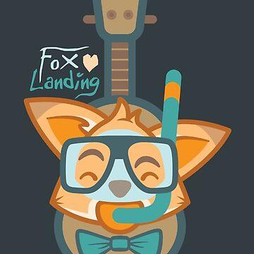 Fox Landing by knightsofloam