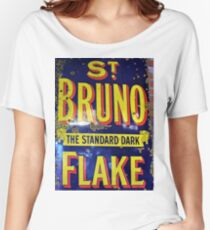 St Bruno Flake - Standard Dark Old Advertisement  Women's Relaxed Fit T-Shirt