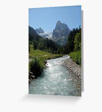 Views of Switzerland Greeting Card
