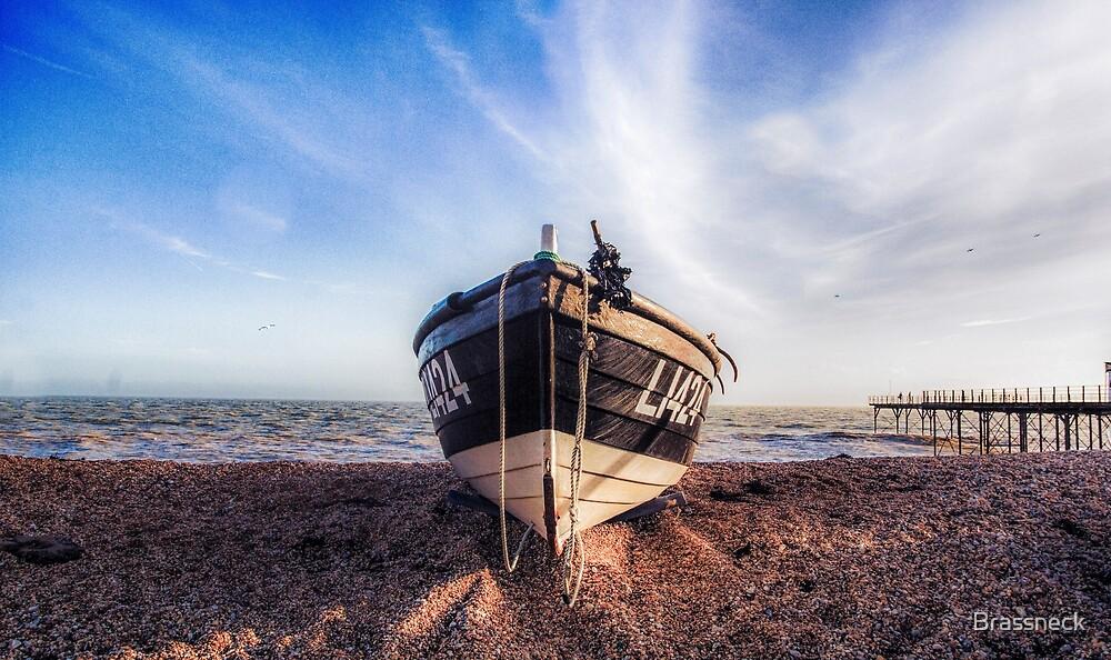 A Boat at Bognor Regis by Brassneck