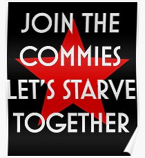 JOIN THE COMMIES Poster