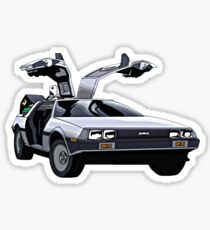 DeLorean Sticker