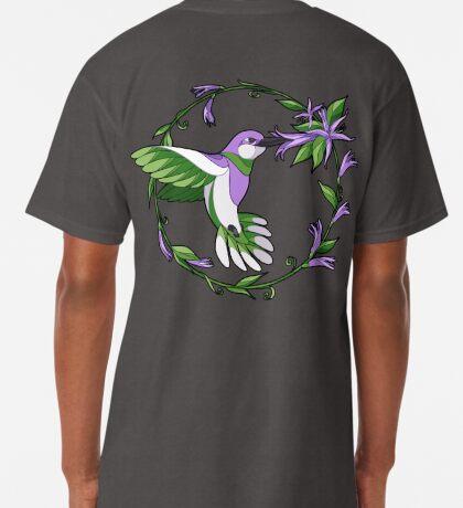 Pride Birds - Genderqueer Long T-Shirt
