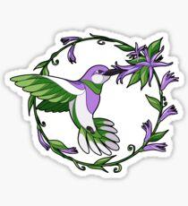 Pride Birds - Genderqueer Sticker