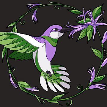 Pride Birds - Genderqueer de wanderingkotka