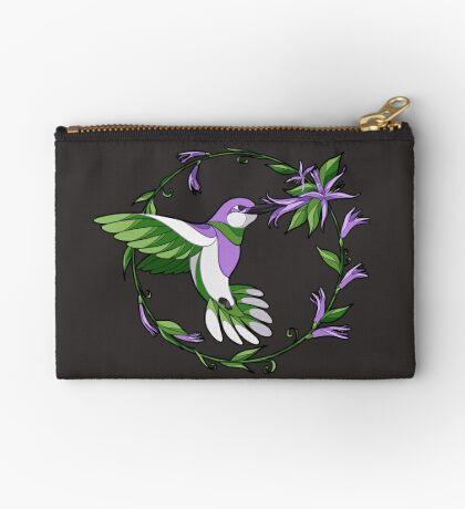Pride Birds - Genderqueer Zipper Pouch