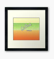 La Push, Washington | Surf Stripes Framed Print