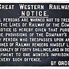 Great Western Railway - Notice Board by Remo Kurka