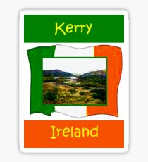 jGibney Ireland 1999 Kerry Lake District Kerry Ireland Flag T-Shirt wb The MUSEUM Red Bubble Gifts Sticker