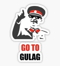 Stalin - Go to Gulag Sticker