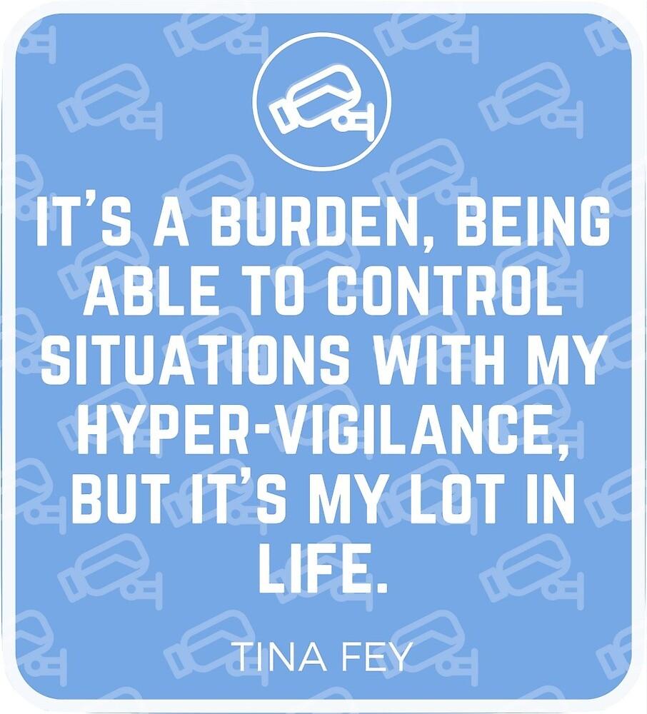 It's a Burden - Tina Fey by WatchMeNow