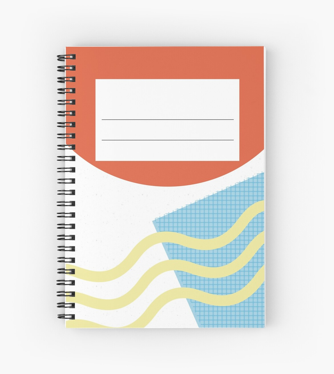 80s Inspired Notebook Design by Allyson Hall