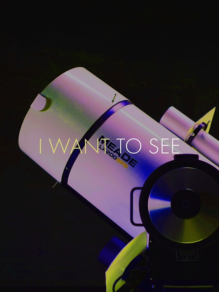I Want To See by Zachariah  Arnold