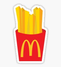 McDonalds Fries Sticker