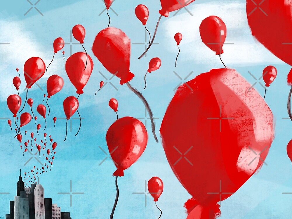 99 Red Balloons by Ohms-n-Wattson