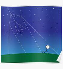Kosmischen Strahlung Poster