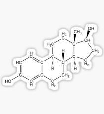 Estrogen - Skeleton Sticker