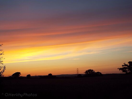 Orange Skies by OHerlihyPhotos