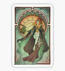 Midna - Art Nouveau Sticker