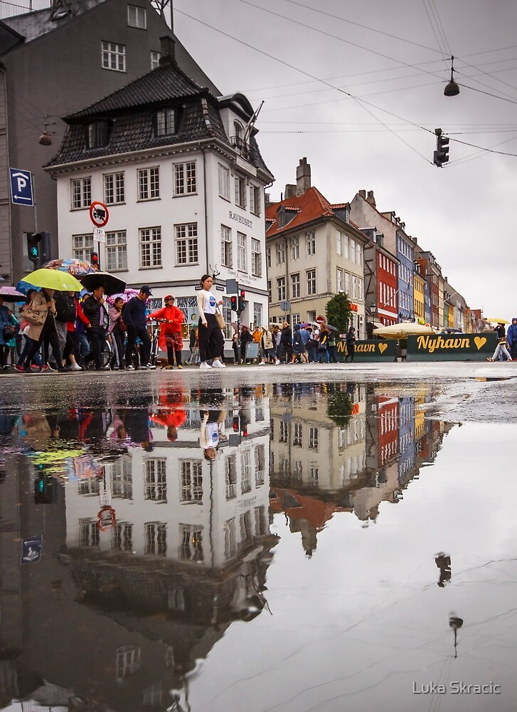Rainy day reflections by Luka Skracic