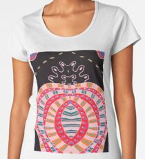 Dots and lines Women's Premium T-Shirt
