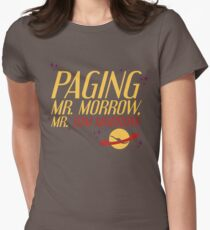 Mr. Morrow Womens Fitted T-Shirt