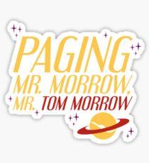 Mr. Morrow Sticker