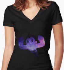 Camiseta entallada de cuello en V ASTRO BOI