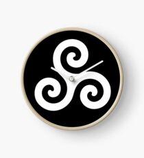 Triskelion Celtic Clock
