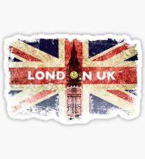 LONDON UK Sticker